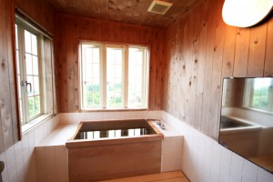 和室檜風呂