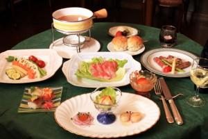 新鮮な地魚のスープフォンデュ